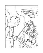 Pinocchio da colorare 57
