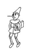 Pinocchio da colorare 61