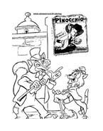 Pinocchio da colorare 62