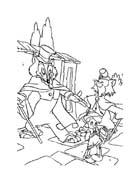 Pinocchio da colorare 64