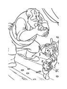 Pinocchio da colorare 65