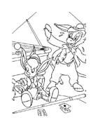 Pinocchio da colorare 66