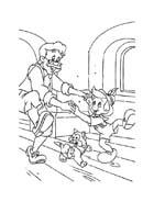 Pinocchio da colorare 67