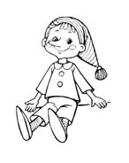 Pinocchio da colorare 68