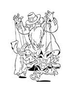 Pinocchio da colorare 79