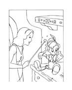 Pinocchio da colorare 91