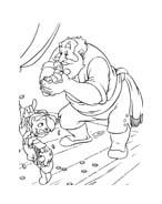 Pinocchio da colorare 95