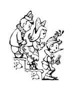 Pinocchio da colorare 98