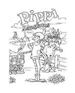 Pippi calzelunghe da colorare 4