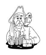 Pirata da colorare 5