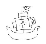Pirata da colorare 22