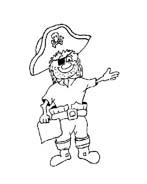Pirata da colorare 30