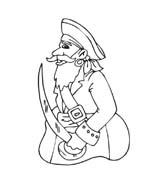 Pirata da colorare 36