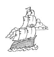 Pirata da colorare 38