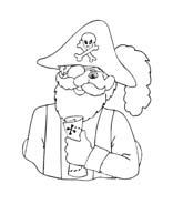 Pirata da colorare 41