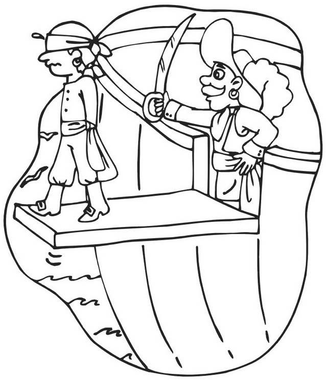 Pirata da colorare 44