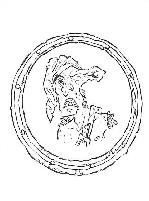 Pirati Dei Caraibi Disegno.Disegnidacolorare It