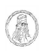 Pirati dei caraibi da colorare 8