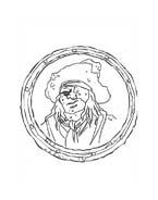 Pirati dei caraibi da colorare 12