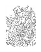 Pirati dei caraibi da colorare 26