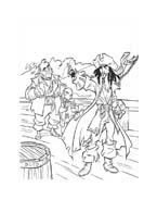 Pirati dei caraibi da colorare 36
