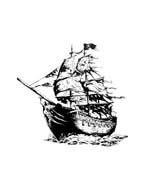 Pirati dei caraibi da colorare 78