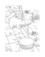 Piuma il piccolo orsetto polare da colorare 10
