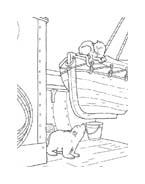 Piuma il piccolo orsetto polare da colorare 35