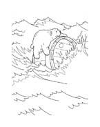 Piuma il piccolo orsetto polare da colorare 40