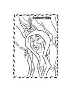Pocahontas da colorare 18