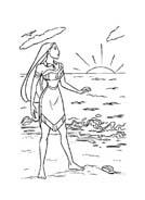 Pocahontas da colorare 25