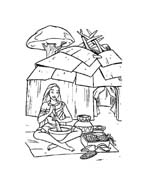 Pocahontas da colorare 26