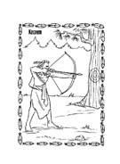 Pocahontas da colorare 31
