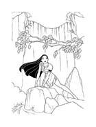 Pocahontas da colorare 36