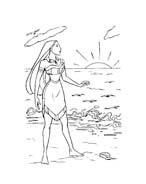 Pocahontas da colorare 40