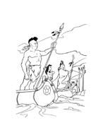 Pocahontas da colorare 44