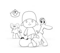 Pocoyo da colorare 29