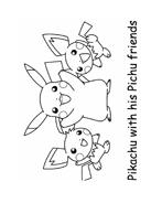Pokemon 1 da colorare 141