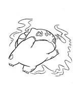 Pokemon 1 da colorare 170