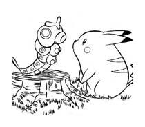 Pokemon 1 da colorare 171