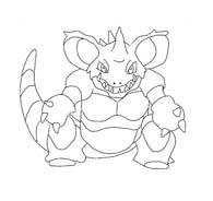 Pokemon 1 da colorare 199
