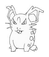 Pokemon 1 da colorare 243