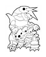 Pokemon 1 da colorare 252