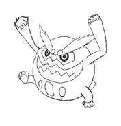 Pokemon 1 da colorare 319