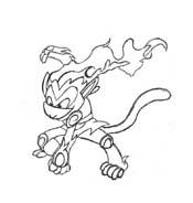 Pokemon 2 da colorare 100