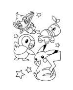 Pokemon 2 da colorare 109
