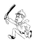 Polizia da colorare 5
