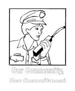 Polizia da colorare 18