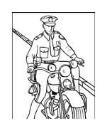 Polizia da colorare 19