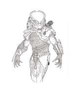 Predators da colorare 4